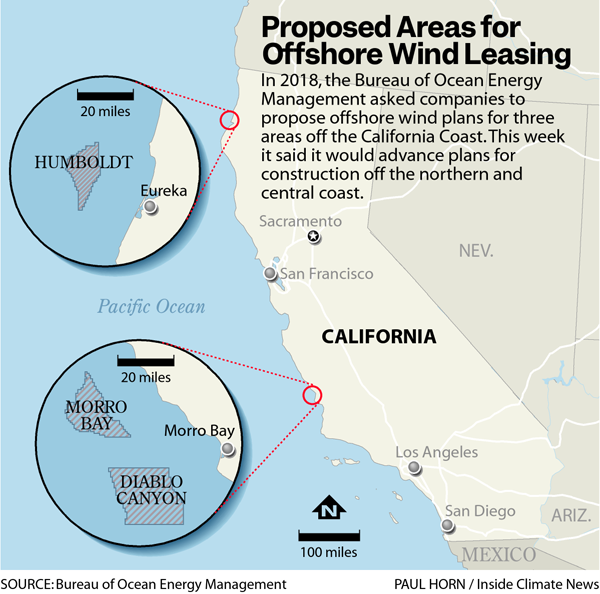 Proposed Areas for Offshore Wind Leasing