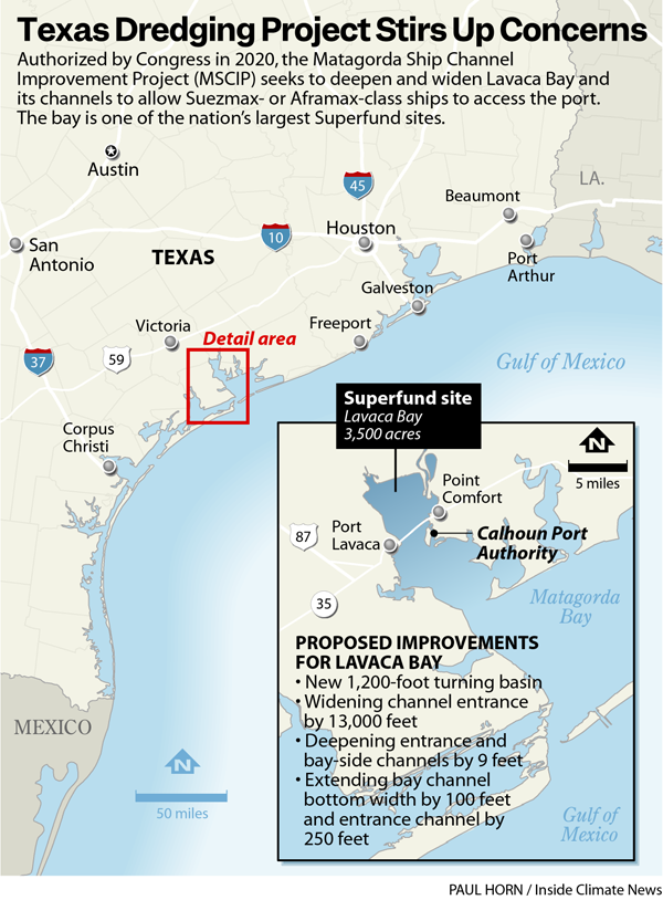 Texas Dredging Project Stirs Up Concerns