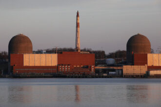 The Indian Point nuclear power plant is seen March 18, 2011 in Buchanan, New York. Credit: Mario Tama/Getty Images