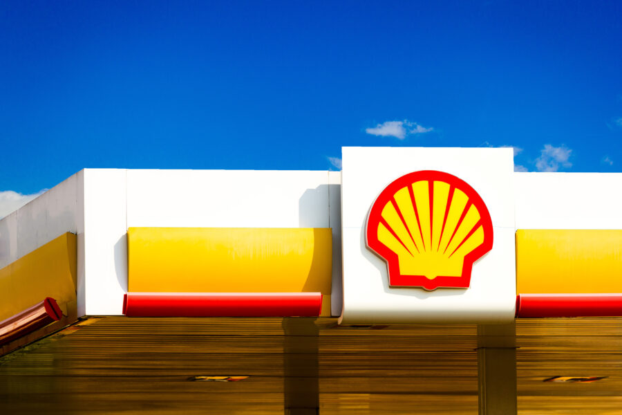 The Royal Dutch Shell logo seen at a gas station in Dourados, Mato Grosso do Sul. Credit: Rafael Henrique/SOPA Images/LightRocket via Getty Images