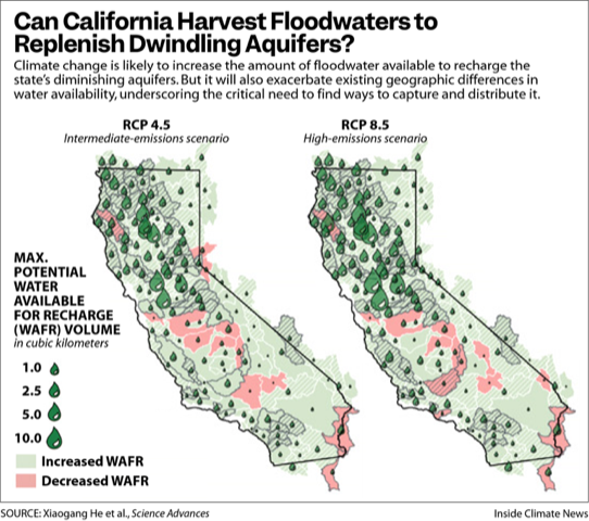 Can California Harvest Floodwaters to Replenish Dwindling Aquifers?