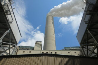 The Prairie State coal fired power plant in southern Illinois. Photo Courtesy of Prairie State Generating Co.