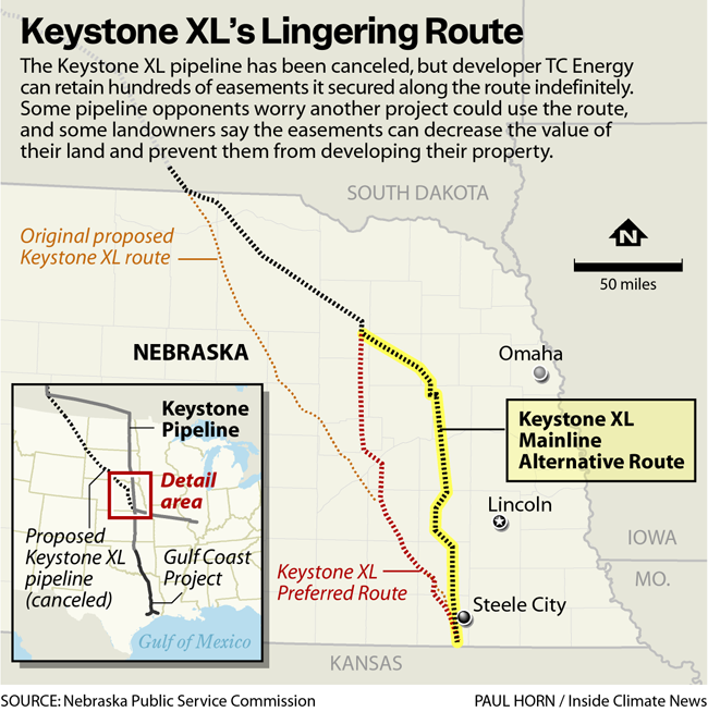 Keystone XL's Lingering Route