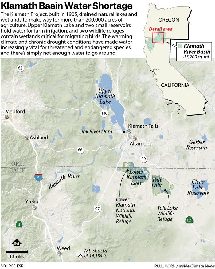 Klamath Basin Water Shortage