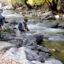 Anglers fish at Eben G. Fine Park on Thursday. Credit: Cliff Grassmick/Digital First Media/Boulder Daily Camera via Getty Images