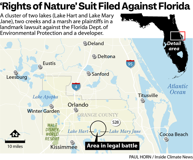 'Rights of Nature' Suit Filed Against Florida