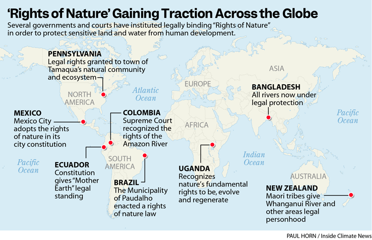 'Rights of Nature' Gaining Traction Across the Globe