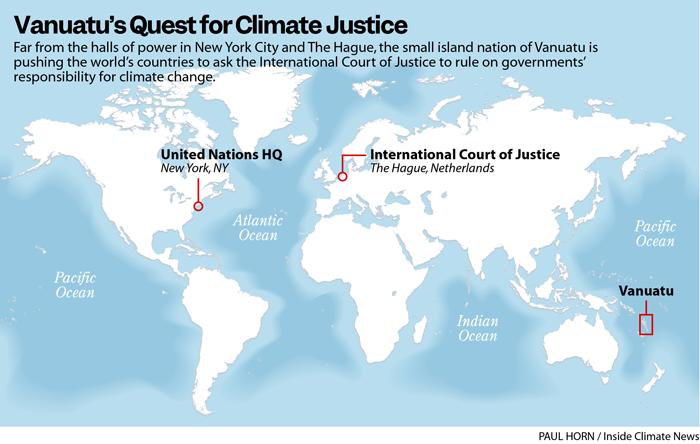 Vanuatu's Quest for Climate Justice